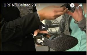 """ORF NÖ Beitrag 2011 """"two in one shoe"""""""