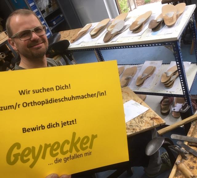 Lehre zur/m Orthopädieschuhmacher/in!