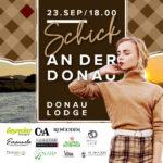 Modeschau an der Donaulände
